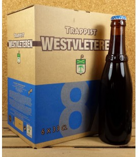 Westvleteren 8 (Extra) 6-Pack Box of 33 cl