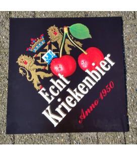 Verhaeghe Echt Kriekenbier Beer-Sign in Plastic