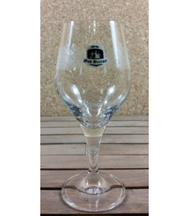 Oud Beersel Fruit-Lambic Glass (black/white) on Stem 25 cl