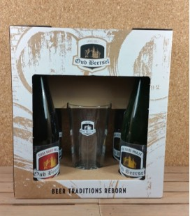 Oud Beersel Oude Geuze/Oude Kriek Giftbox + Lyric Glass