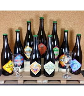 De Vlier Brewery Pack + 2 FREE De Vlier Glasses