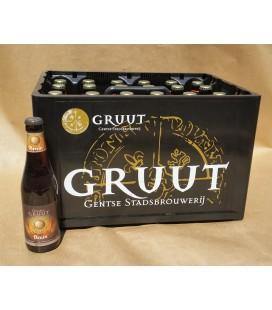 Gruut Bruin full crate 24 x 33 cl