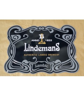 Lindemans Beer-Sign (tin-metal)
