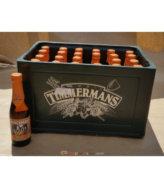 Timmermans Pêche Lambicus Full Crate 24x25cl