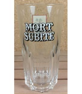 """Mort Subite Vintage Geuze Glass """"Men In Black"""" 33 cl"""