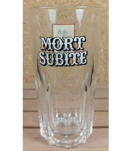 "Mort Subite Vintage Geuze Glass ""Men In Black"" 33 cl"