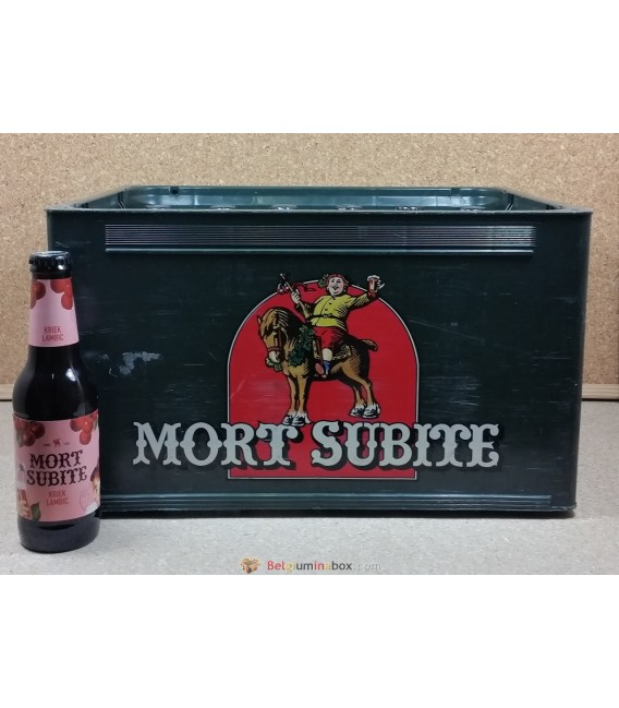 Mort Subite Kriek full crate 24 X 25 cl