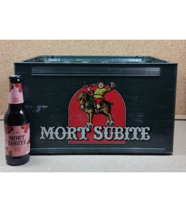 Mort Subite Kriek Lambic full crate 24 x 25 cl