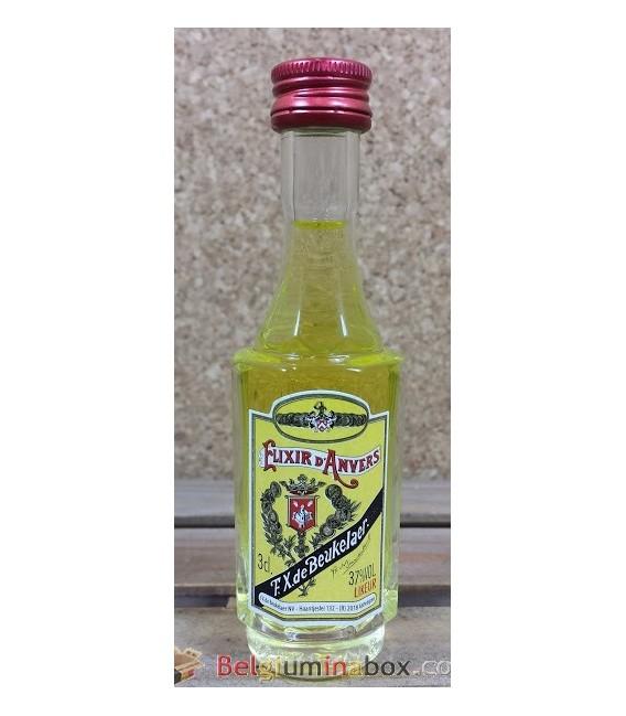 Elixir d'Anvers F.X. de Beukelaer 3 cl (miniature bottle)