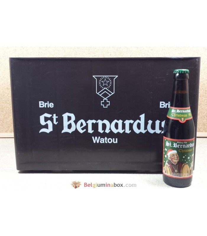 Buy St Bernardus Christmas Ale full crate 24 x 33 cl online