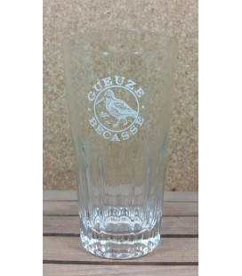 Gueuze Becasse (white bird logo) Glass (vintage) 25 cl