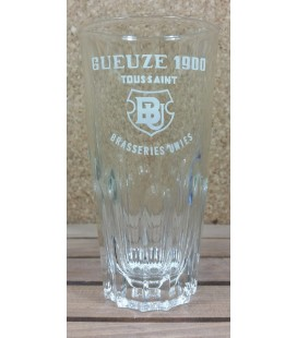 Brasseries Unies Toussaint Gueuze 1900 (deep ribs) Glass (vintage) 25 cl