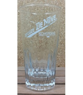 Gueuze De Neve (diagonal text) Glass (vintage 33 cl
