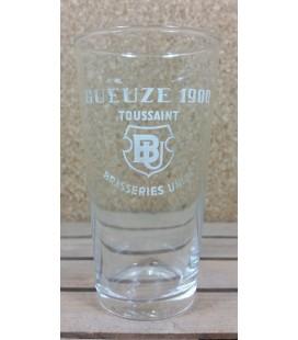 Brasseries Unies Toussaint Gueuze 1900 (no ribs) Glass (vintage) 25 cl