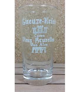 Gueuze-Kriek Caves Vieux Bruxelles Van Alen Glass (vintage) 25 cl