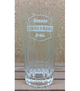 Gueuze Timmermans Kriek ( White Label ) Vintage Glass 33 cl