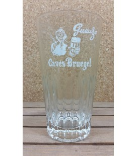 De Neve Gueuze Caves Bruegel ( White label ) Vintage Glass 33 cl