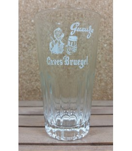De Neve Gueuze Caves Bruegel (white label) Glass (vintage) 25 cl