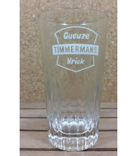 Gueuze Timmermans Kriek (white label) Glass (vintage) 25 cl