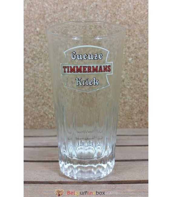 Gueuze Timmermans Kriek ( White Label ) Vintage Glass 25 cl