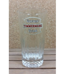 Gueuze Timmermans Kriek ( White Label ) Vintage Glass 25 cl