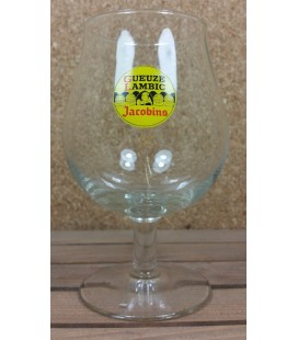Jacobins Yellow Label Geuze - Lambic Goblet Vintage Glass 25 cl