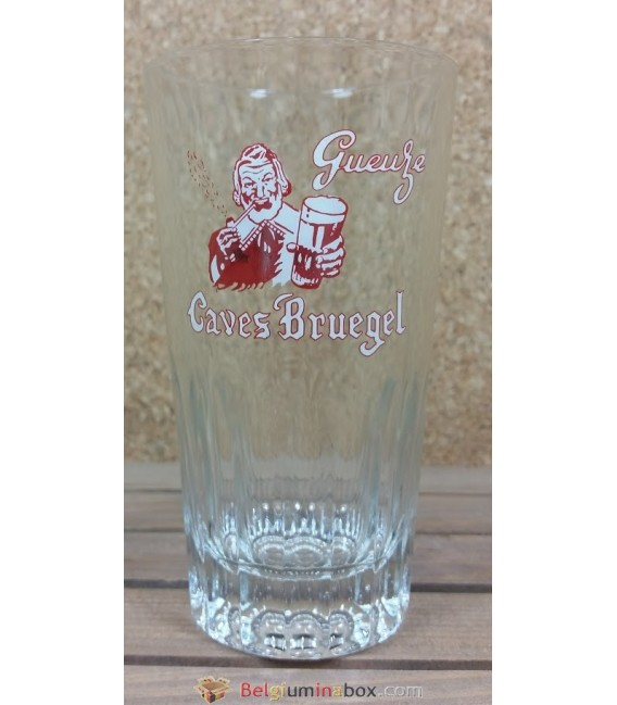De Neve Gueuze Caves Bruegel Red Vintage Glass 25 cl