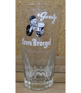De Neve Gueuze Caves Bruegel Black 'No Hat'  Vintage Glass 25 cl