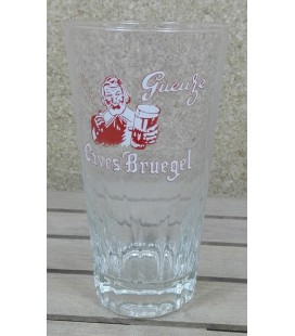 De Neve Gueuze Caves Bruegel (red color- light) Glass (vintage) 25 cl