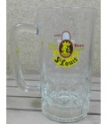 St Louis Glass-Mug (vintage) 50 cl