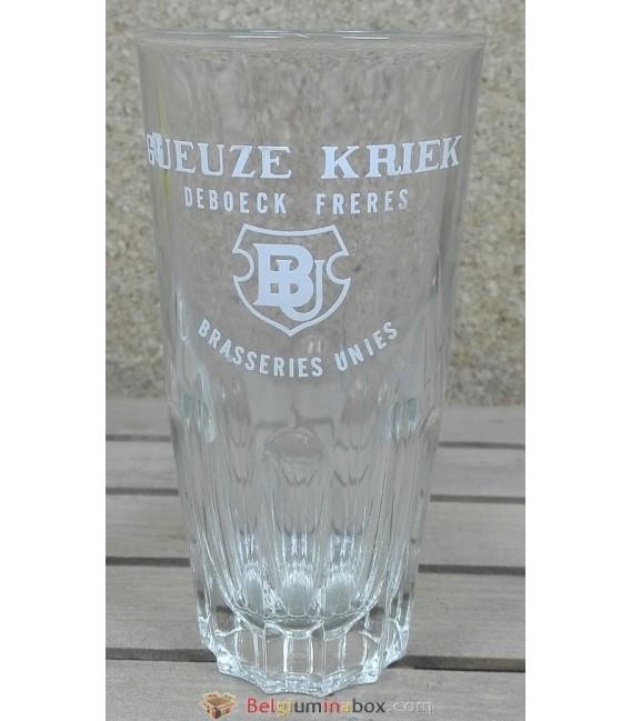 Geuze-Kriek Brasseries Unies - De Boeck Frères Vintage Glass 33 cl