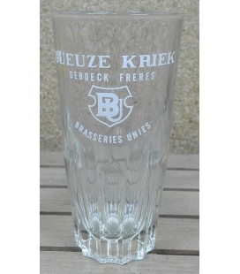 Geuze-Kriek Brasseries Unies-De Boeck Frères (deep-ribs) Glass (vintage) 25 cl