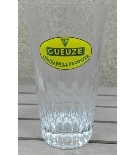 Gueuze Louis & Emil De Coster ( yellow Logo ) Vintage Glass 25 cl