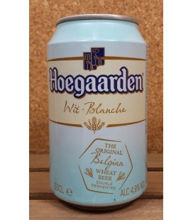 Hoegaarden Wit/Blanche  Can 33 cl