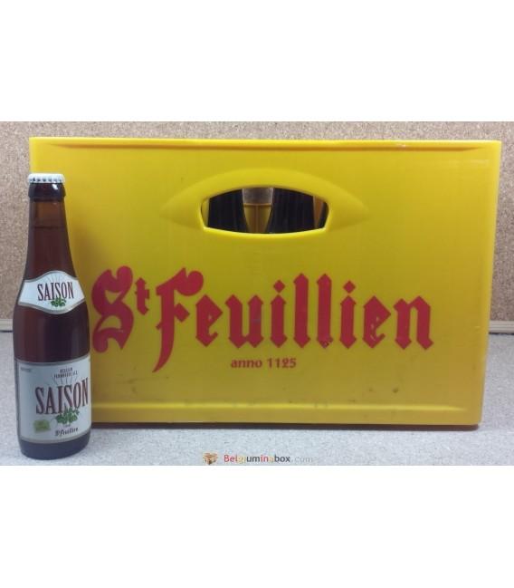 St-Feuillien Saison full crate 24x33cl
