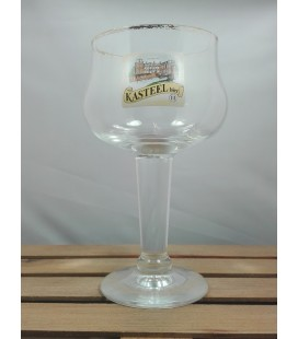 "Kasteelbier Vintage glass ""full color"" Logo 33cl"