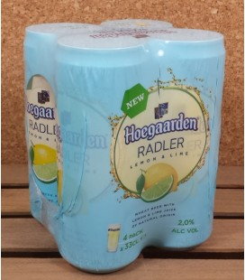 Hoegaarden Radler Lemon & Lime Can 4 x 33 cl