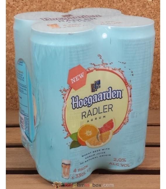 Hoegaarden Radler Agrum Can 4 x 33 cl