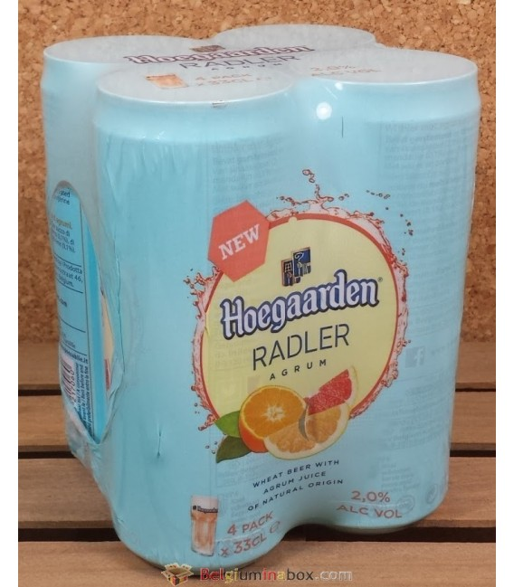Hoegaarden Radler Agrum Can 4 x 33 cl