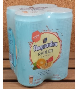 Hoegaarden Radler Agrum 4 x 33 cl Cans